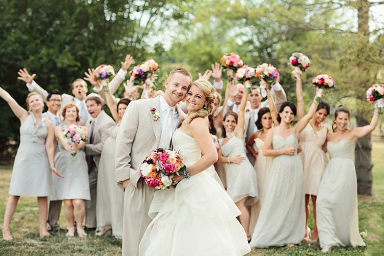 стиль свадьбы